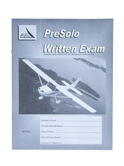 Pro Flight Pre Solo Written Exam