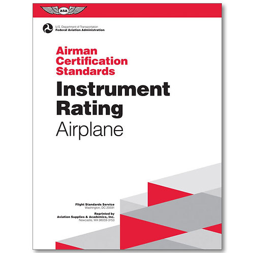 ASA Instrument Airman Certification Standards (ACS)