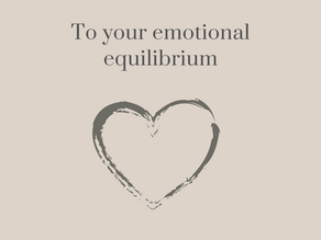 Are you emotionally out of whack?