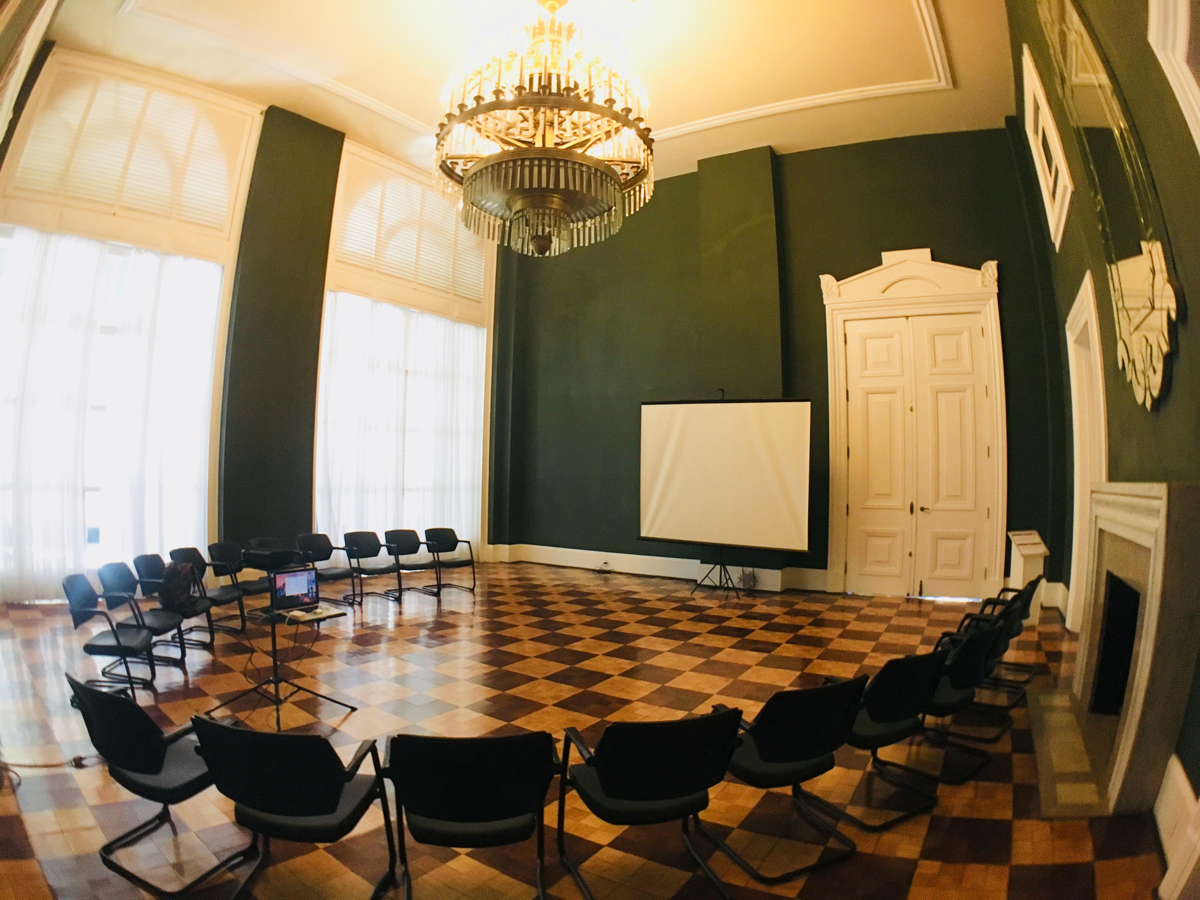 Oficina no SESC Quitandinha