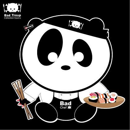 """Tablier de cuisine enfant """"panda"""" T003"""