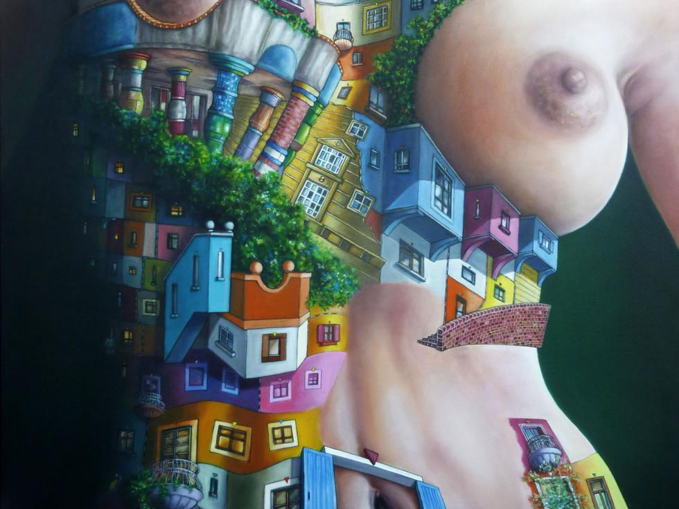 Frau Hundertwasser