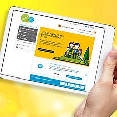 Sweepyourwebsite : site internet Lyonnaise des Eaux
