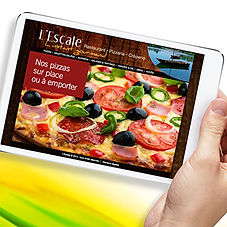 Sweepyourwebsite : site internet Pizza L'Escale