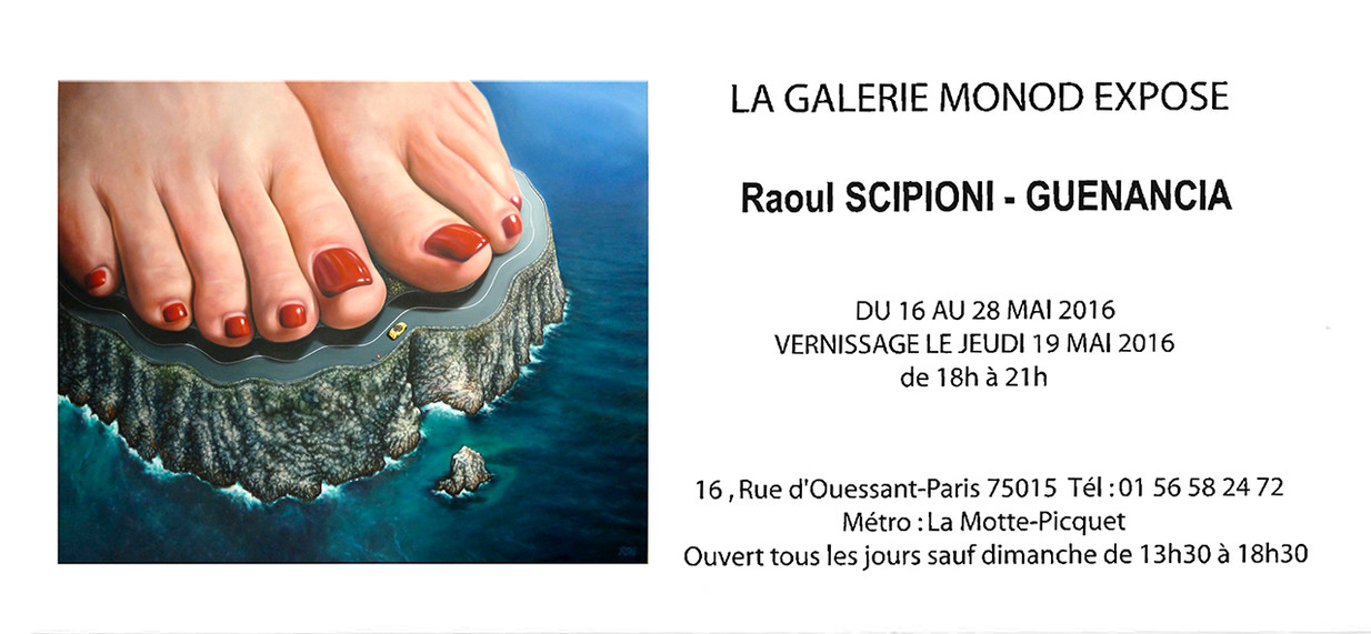 Raoul-Scipioni-Guenancia-Exposition Galerie Monod 2016