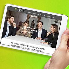 Sweepyourwebsite : site internet 9Trévise Avocats