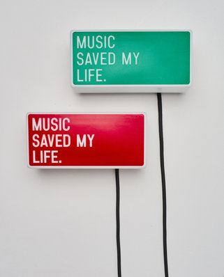 MUSIC SAVED MY LIFE LUMINAIRE - SOLOMUN