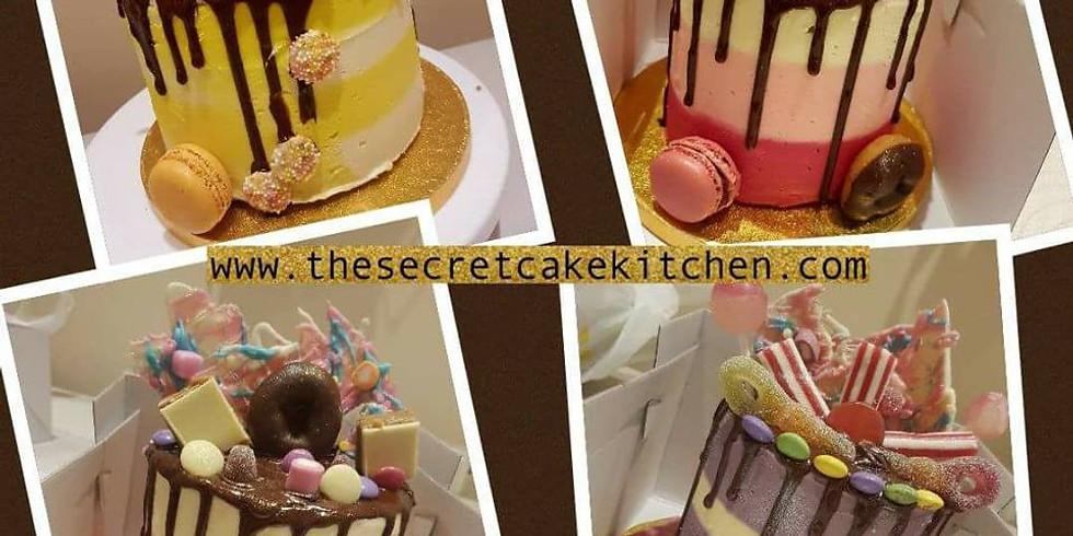The Chocolate Drip Cake Class