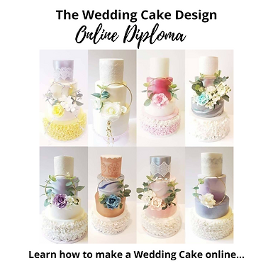 The Wedding Cake Design Online Diploma