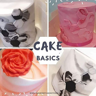 Struggle with ganache and sharp edges_ _Cake Basics Class_ in one session learn how to_ 🤗