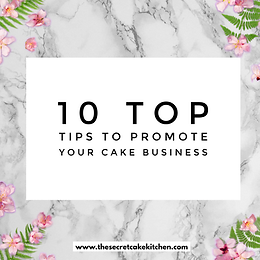 Facebook Live Mini Class: How to promote your Cake Biz to make more MONEY!