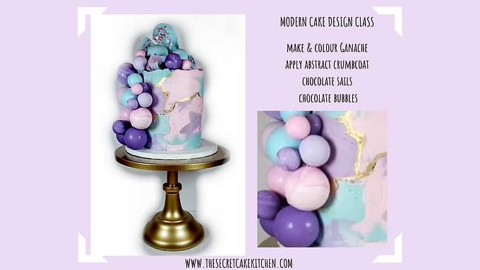 Facebook Live Class: Modern Cake Design