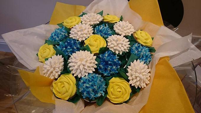 The Cupcake Bouquet Class
