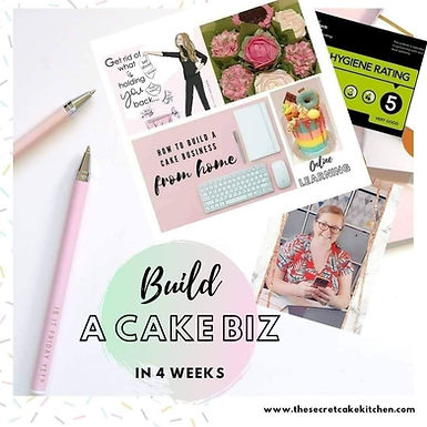 How to Build a Cake Business from Home Online Class