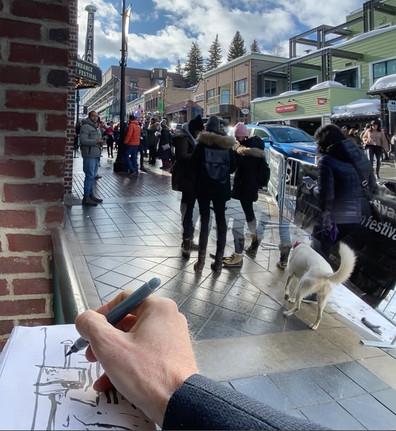 Croquis @ The Sundance Film Festival