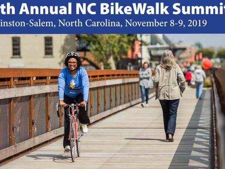 We need YOU at the NC BikeWalk Summit this year