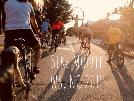 Don't sit out this Bike Month