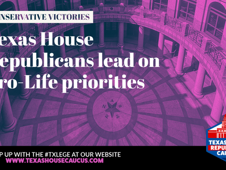 RECAP: HEARTBEAT ACT, PRE-BAN ON ABORTIONS LEAD PRO-LIFE TXLEGE SESSION