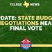 TEXAS LEGISLATURE CLOSE TO FINAL BUDGET VOTE
