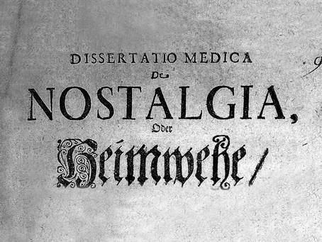 Pandemic Nostalgia.