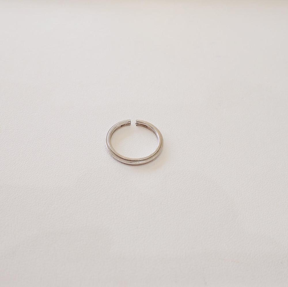 ジュエリリフォーム 指輪切断 リング切断 指輪サイズ直し リングサイズ直し ジュエリー修理 山形県 山形市 宝石店 ジュエリーショップ アトリエジェムカフェ