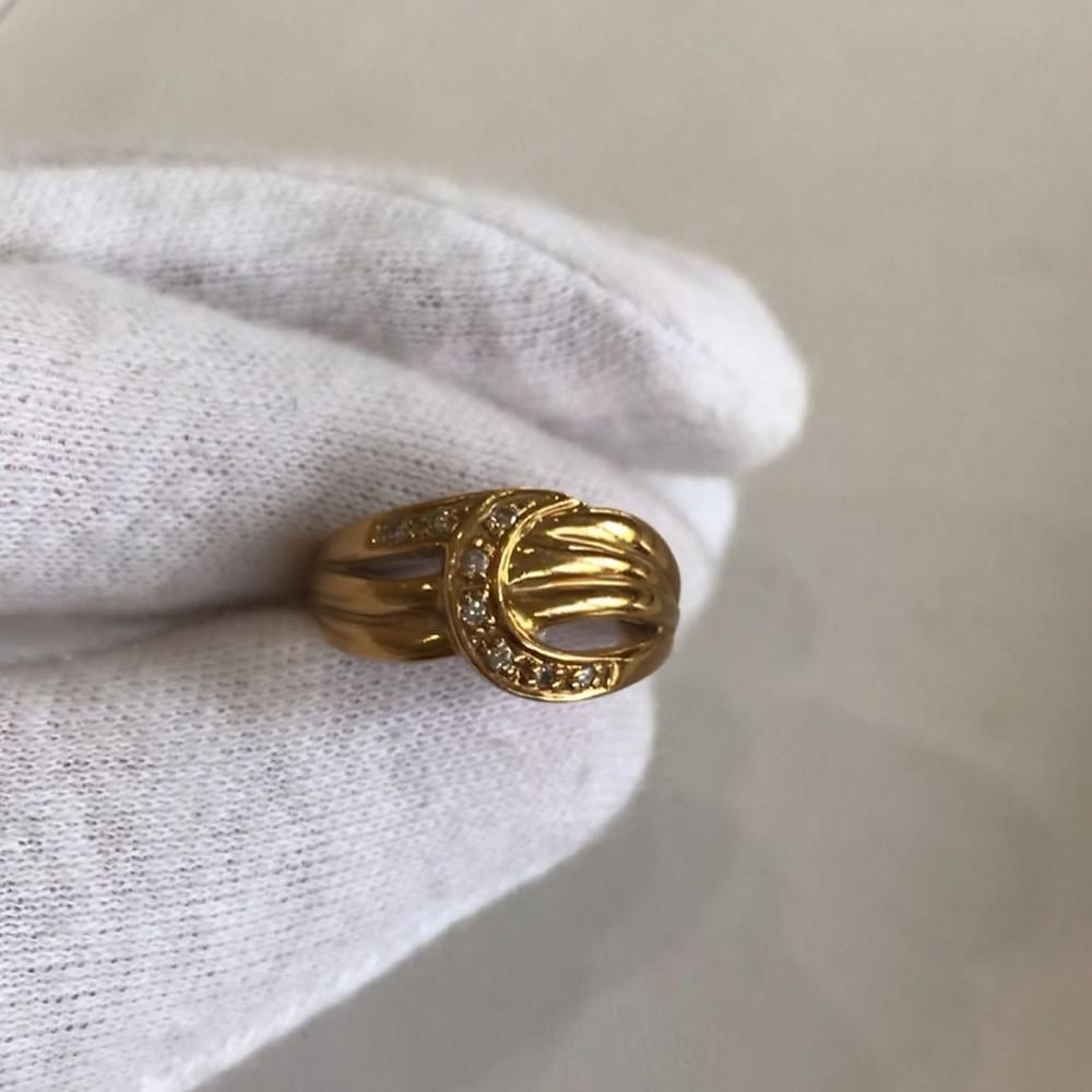 10年以上着用した18金の指輪