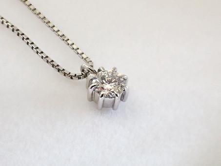 【No.13 指輪とお揃いデザインのプロポーズネックレス】