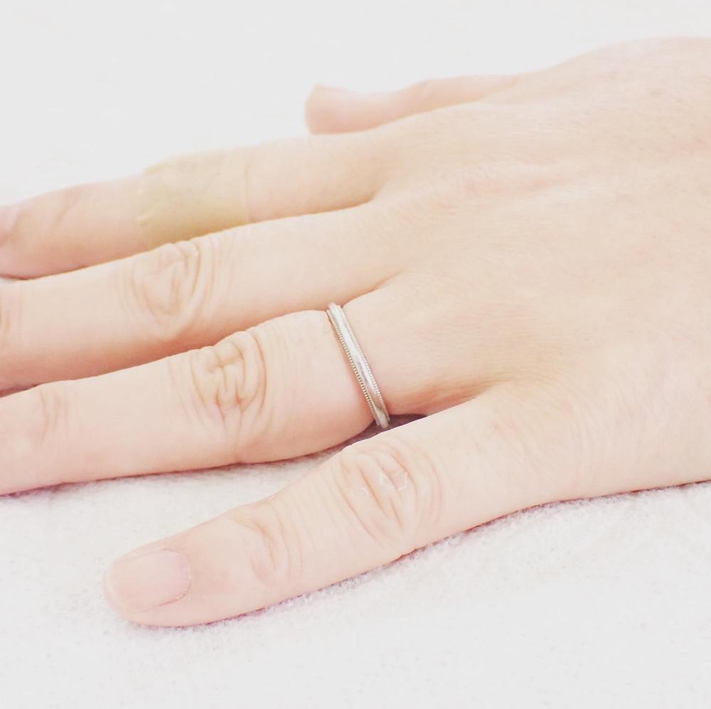 ジュエリーリフォーム ジュエリーの修理 リングサイズ変更 指輪サイズ直し 結婚指輪 婚約指輪 修理 山形県 山形市 宝石店 ジュエリーショップ アトリエジェムカフェ