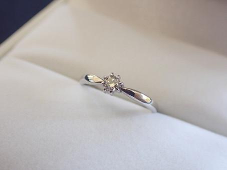 【No.14 「8」にちなんだデザインの婚約指輪】