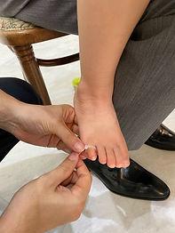 赤ちゃんの指の大きさを測って作るベビーリング ジュエリーショップ アトリエジェムカフェ