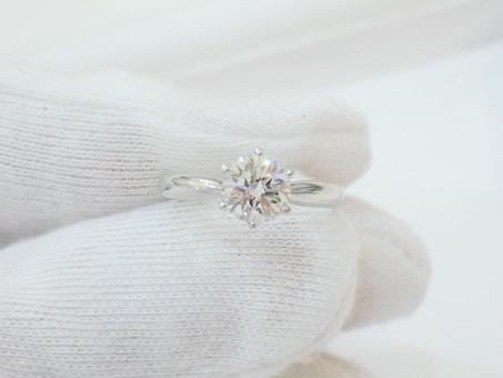 【ジュエリーリフォーム】1ctのダイヤモンドリングのジュエリーリフォームをご用命頂きました。