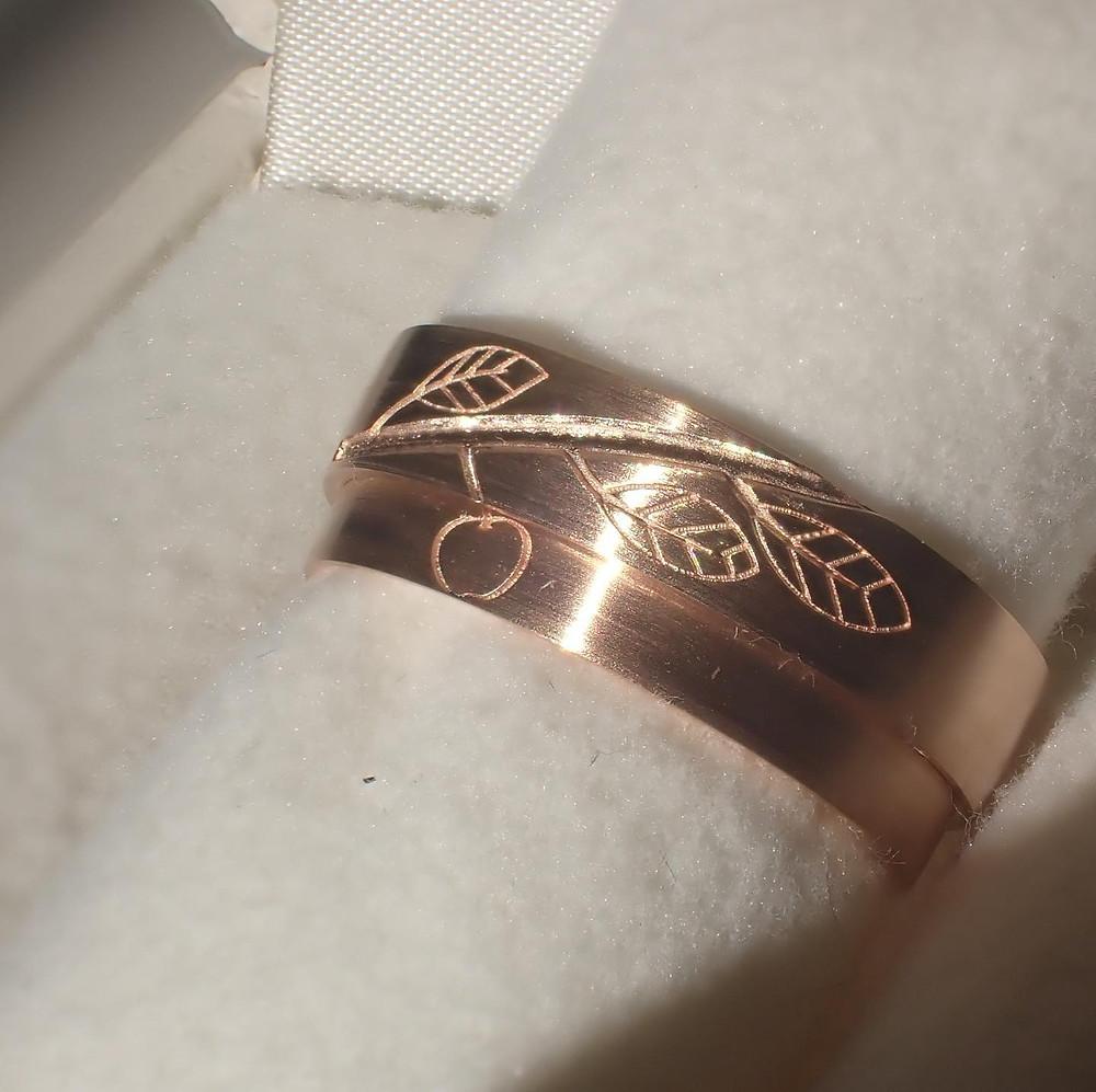 ブライダルリング マリッジリング エンゲージリング 結婚指輪 婚約指輪 指輪 ピンクゴールド 山形県 山形市 アトリエジェムカフェ