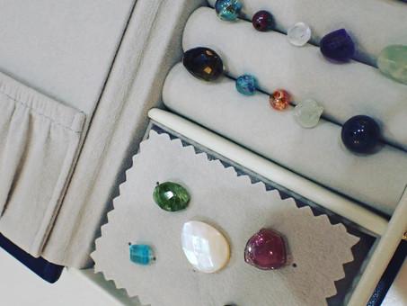 【プレゼント製作例】宝石箱&天然石のセット