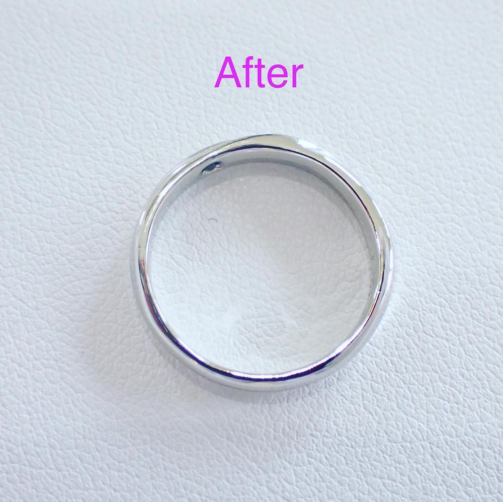 指輪のサイズ直し リングサイズ直し マリッジリング 結婚指輪の修理 サイズ調整 山形県山形市 宝石店 ジュエリーショップ アトリエジェムカフェ
