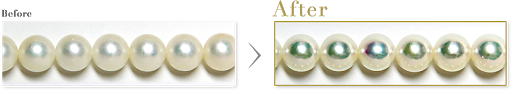 真珠 パール リパール 磨き直し 新品仕上げ クリーニング 山形県山形市 宝石店