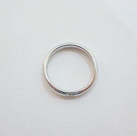 結婚指輪 サイズ直し ジュエリーリフォーム 新品仕上げ プラチナ 山形 山形市 宝石店 ジュエリーショップ アトリエジェムカフェ