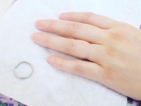 【結婚指輪の切断をご依頼頂きました】