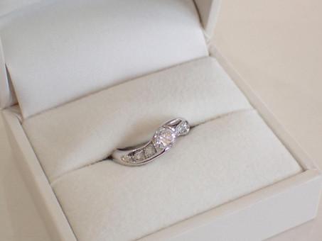 【 ジュエリーリフォーム製作例】婚約指輪と結婚10週年記念指輪を普段使いできる指輪にお仕立てしました。