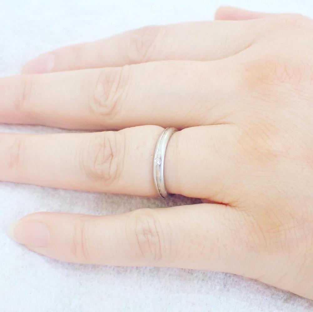結婚指輪 婚約指輪 切断 指輪 リング リングカッター プラチナ 山形 山形県 宝石店 ジュエリーショップ アトリエジェムカフェ