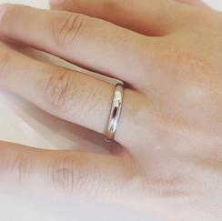 結婚指輪製作実例 プラチナリング オーダーメイドリング 山形県山形市 宝石店 ジュエリーショップ アトリエジェムカフェ