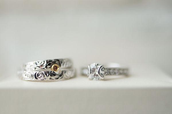 オーダーメイド 結婚指輪 婚約指輪 ブライダルリング マリッジリング エンゲージリング 山形県 山形市 宝石店 ジュエリーショップ アトリエジェムカフェ