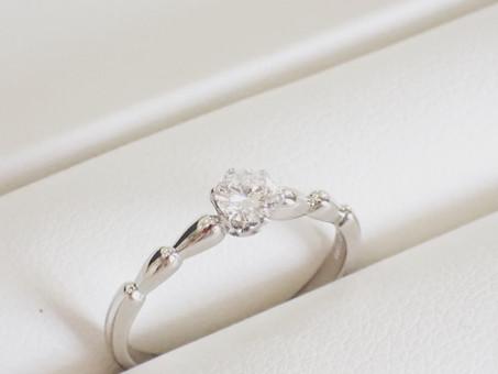 【サイズ直し実例】婚約指輪のサイズ直しをさせて頂きました。