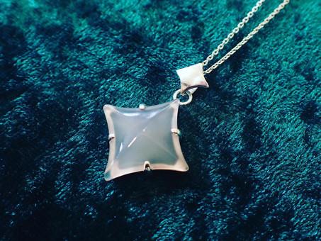【Gassan Crystal Story】山形産めのうのネックレス「願い星」ご用命頂きました。