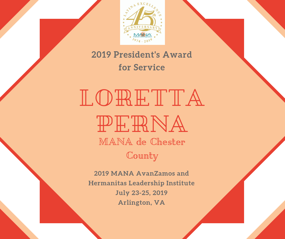 2019 Presidents Award_Loretta Perna