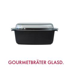 GIGANT Newline Gourmetbräter mit Glasdeckel