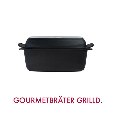 GIGANT Newline Gourmetbräter mit Grilldeckel