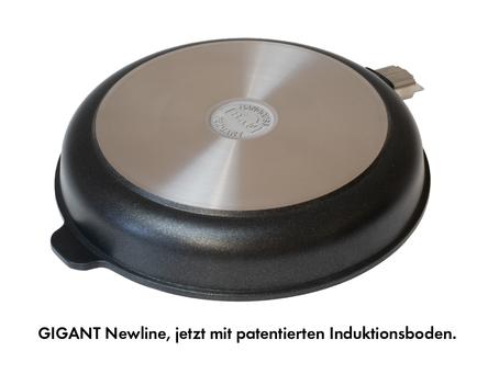 Unser neuer patentierte Induktionsboden der Serie GIGANT Newline CSI- Technologie