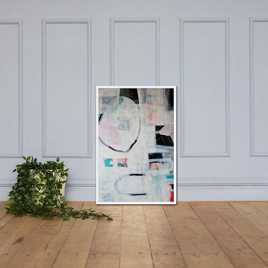 That Romantic French Film Framed Art Print