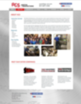 Durning Communications website 6