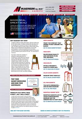Durning Communications website 7